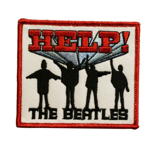 The Beatles Help Album Cover Art Embroidered Iron On Patch - Licensed 075-L