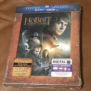 The Hobbit Extended Blu-Ray + Digital Code Sealed