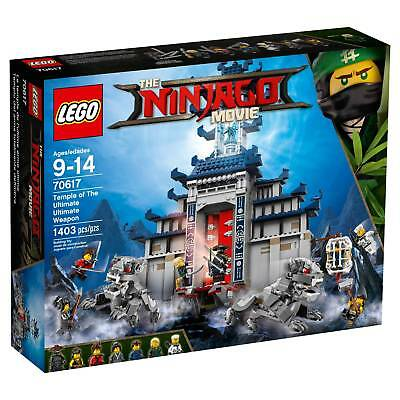 Lego  174  Ninjago Temple Of The Ultimate Ultimate Weapon 70617
