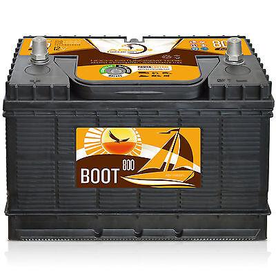 Versorgung Caddy (*NEUWERTIG* Adler EFB 12V / 105 Ah Boot Caravan Versorgungs Verbraucher Batterie)