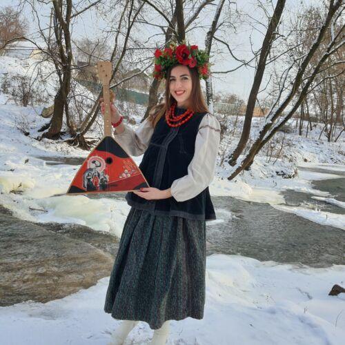 Balalaika - Musical instrument of the USSR - Russian vintage instrument - Primit