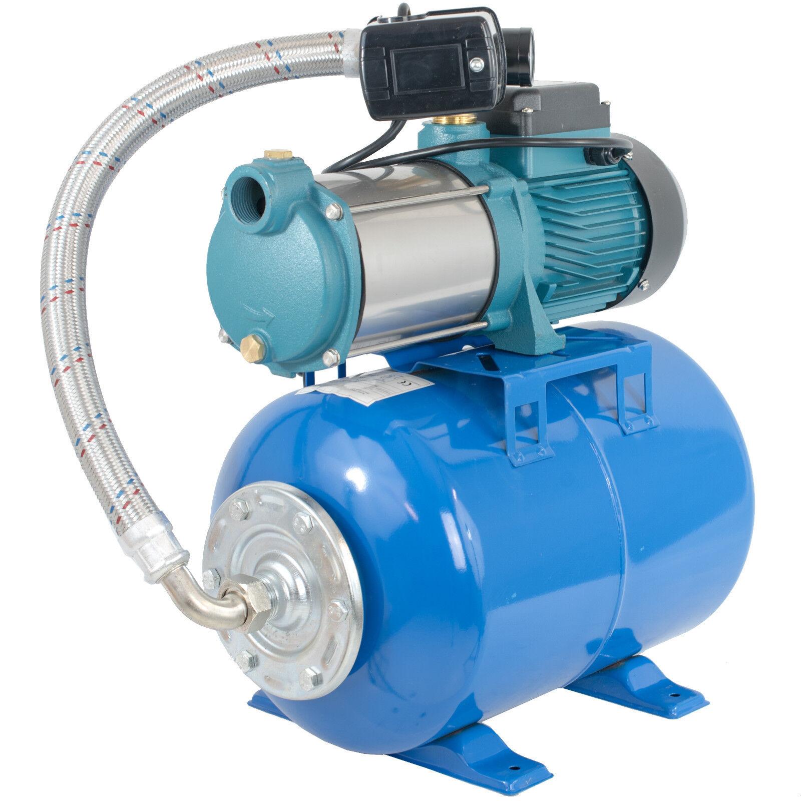 Hauswasserwerk 5-stufige Pumpe MH 1300 6000l/h 24L 50 L 80L 100L Druckbehälter