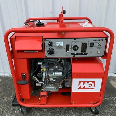 Mq Power Multiquip Gaw-180hea Welder 180 Amps Generator Honda Gx340 Motor