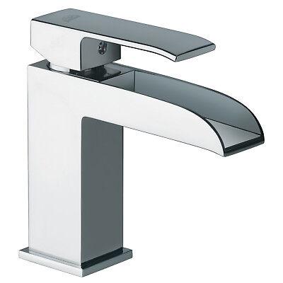 Paffoni Level miscelatore dal design moderno a cascata per lavabo con  accessori