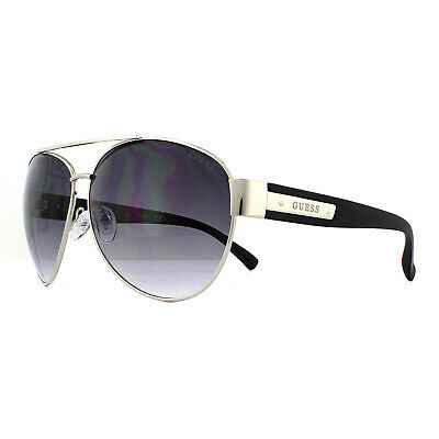 Guess Sunglasses GU6830 08C Silver Grey Gradient