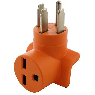 4-prong Electric Range Outlet Adapter Nema 14-50p To Nema 6-30r By Ac Works