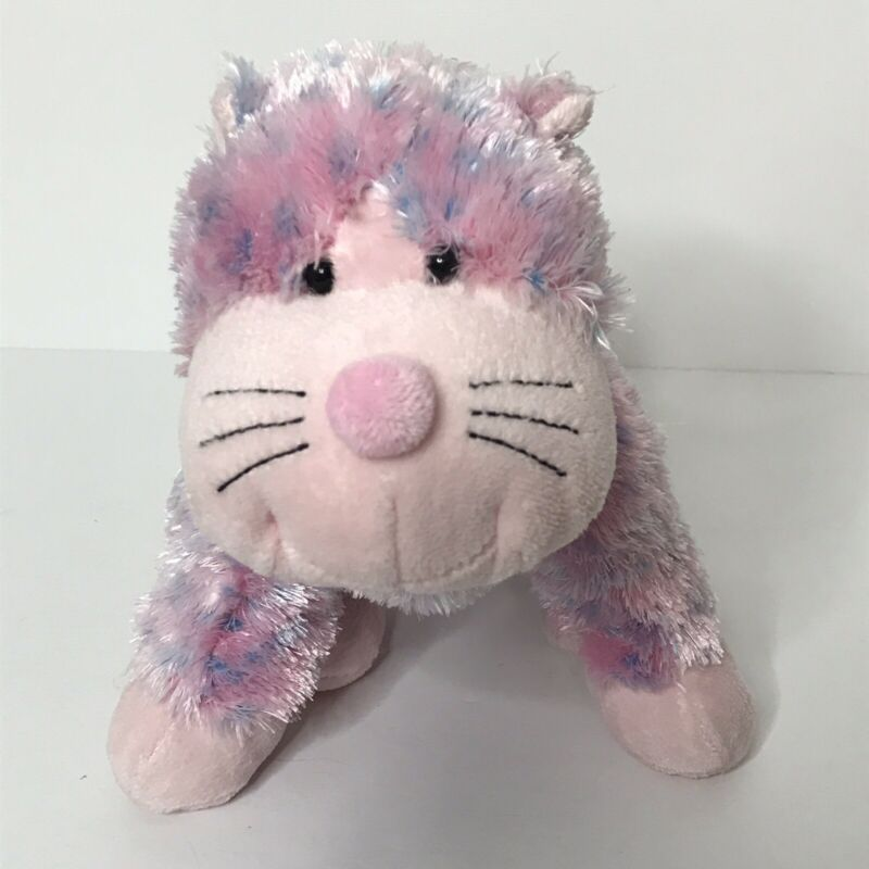 "Webkinz Bubblegum Cheeky Cat Plush Stuffed Animal Beanie No Code  9"" Ganz HM442"