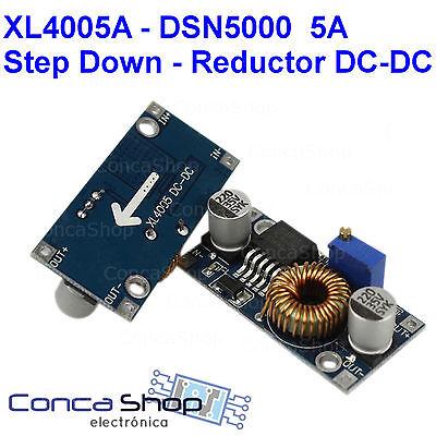 REDUCTOR DE TENSION AJUSTABLE ALTA INTENSIDAD 5A STEP-DOWN XL4005 DSN5000 DC-DC