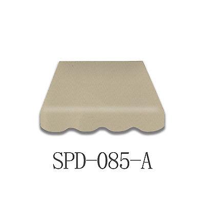 Markisenstoff Plane Zelts ohne Volant 4 x 2,5 m  Fertig genäht SPD-085A
