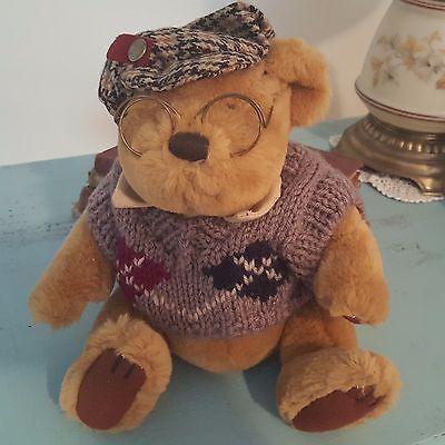 "Pickford Bears Brass Button Bears Sherwood Plush 10"""