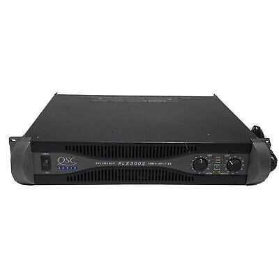 QSC PLX3002 2-CH Power Amplifier 550-W/CH @ 8-OHMS PLX-3002, used for sale  Shipping to Canada
