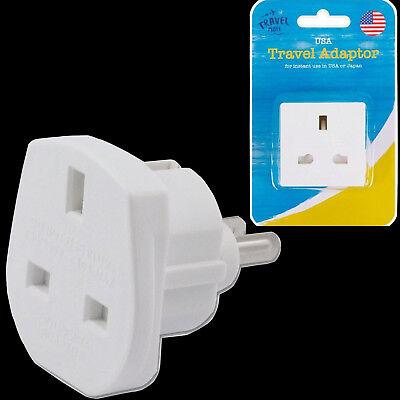 Worldwide UK To European China USA American Visitor Travel Plug Power Adapter
