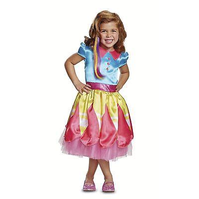 Child Toddler Girls Nickelodeon Nick Jr Sunny Day Halloween Costume 3T-4T - Nick New Girl Halloween Costume