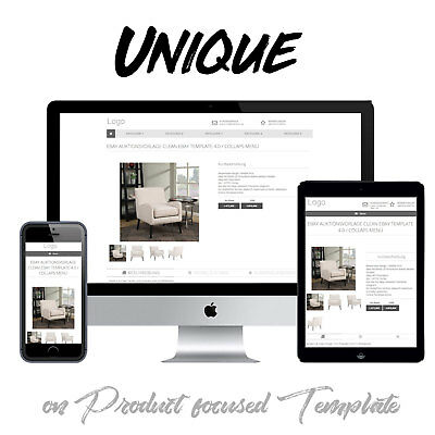 Custom Ebay Storefront And Listing Template Design