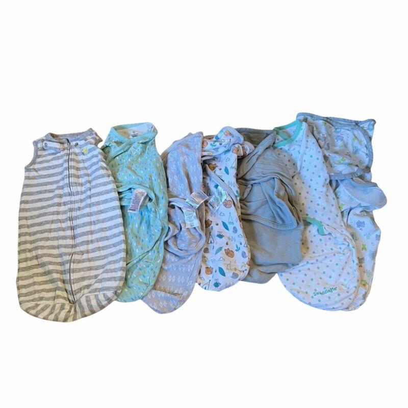 Lot of small baby swaddles swaddleme summer Carter's sleep sack boy girl unisex