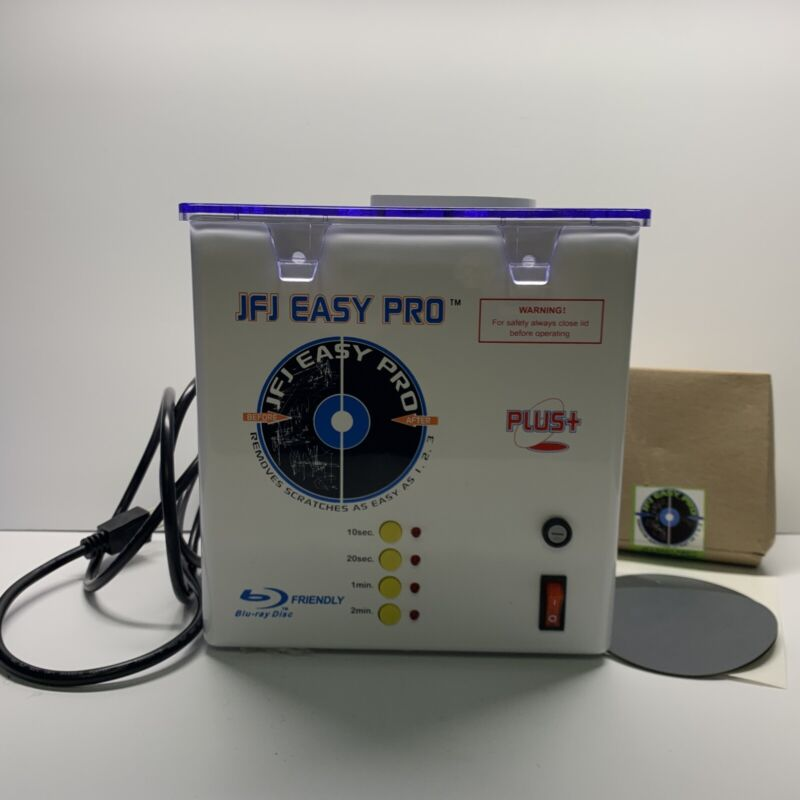 JFJ Easy Pro Disc Repair Machine W/ Buffing Pad Coarse & Soft (SHIPS NEXT DAY!)