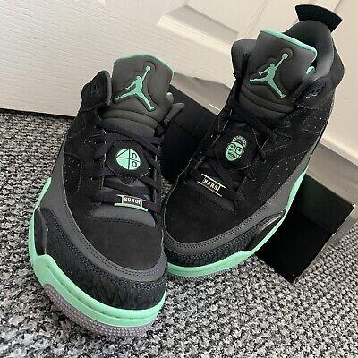 Nike Air Jordan Son of Mars, Low - Black Green Grey UK 9 Sneakers Trainers