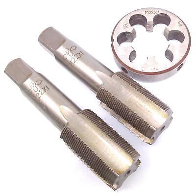 Hss M22 X 1mm Taper Plug Tap M22 X 1mm Die Metric Thread Right Hand