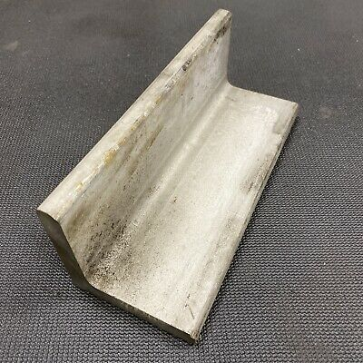 12 Thickness 304 Stainless Steel Angle - 0.5 X 3 X 3 X 8 Length