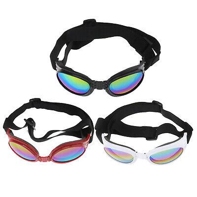 Pet Dog Doggy Sunglasses Toys Eye Wear Goggle Glasses Adjustable Strap (Sunglasses Dog Toy)