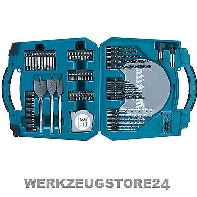 Makita Bohrer-Bit-Set 71-tlg. im Werkzeugkoffer D-47145 Metallbohrer Holzbohrer