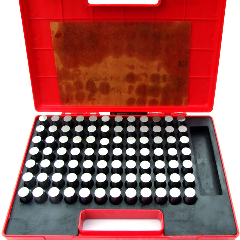 "HFS(R) Steel Pin Gauge Set - 84pcs M6 .833-.916"" - Class ZZ"