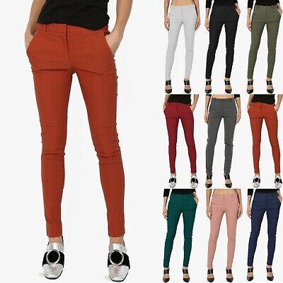 Slant Pockets Trousers (TheMogan Everyday Long & Lean Mid Rise Slant Pocket Ankle Skinny Trouser Pants )