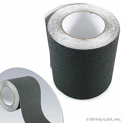 6 X 30 Black Roll Safety Non Skid Tape Anti Slip Tape Sticker Grip Safe Grit
