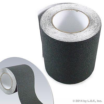 6 X 30 Black Roll Safety Non Skid Tape Anti Slip Tape Sticker Grip Safe Grit