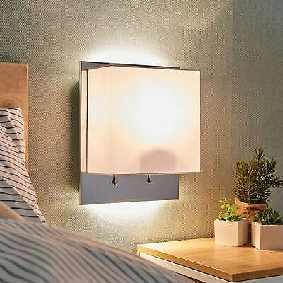 Wandleuchte Smira Wandlampe Lampenwelt Beton Industrie-Stil Modern Quadratisch