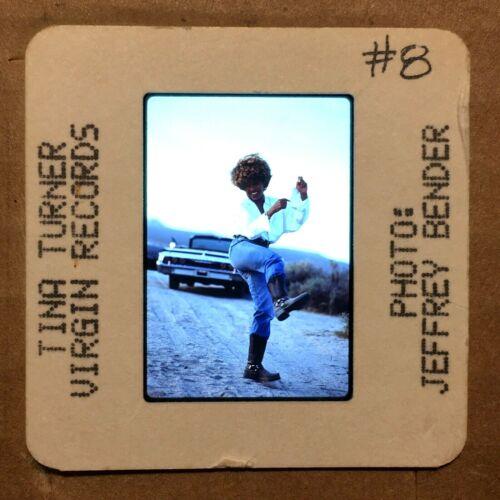 """TINA TURNER : Color 35mm """"PRESS PHOTO"""" Slide @ 80s/90s Vintage POP ROCK Music"""