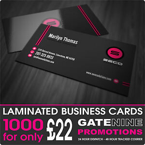 1000 business cards 400gsm premium silk artboard gloss for Business cards 1000