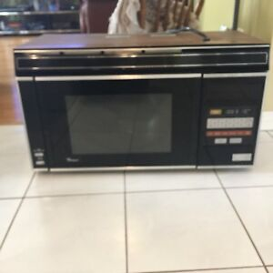 Whirlpool over the range Microwave oven and hood