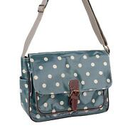 Polka Dot Oilcloth Bag