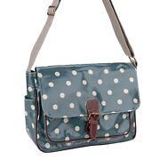 Polka Dot Oilcloth Bag
