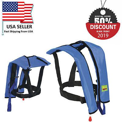 Black Friday Sale Auto/Manual Inflatable Life Jacket Floating Life Vest PFD