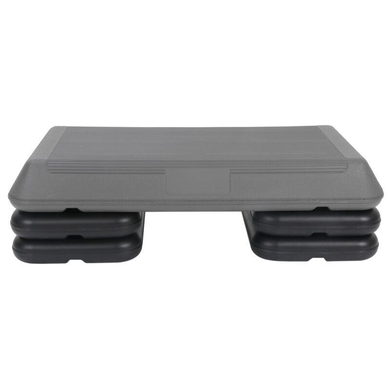 """Exercise Home Gym Workout Aerobic Step Versatile Stepper with 3 Level Risers 28"""""""