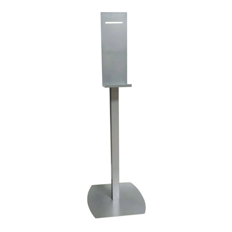 WPI Universal Touch Free Sanitizer Dispenser Floor Stand Made in USA