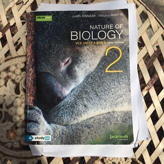 Biology Jacaranda unit 3/4 textbook