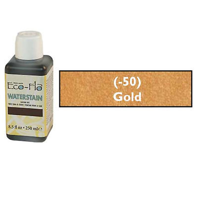 Eco-Flo Professional Waterstain Gold 250 ml (8.5 fl oz.) Blended Natural Waxes