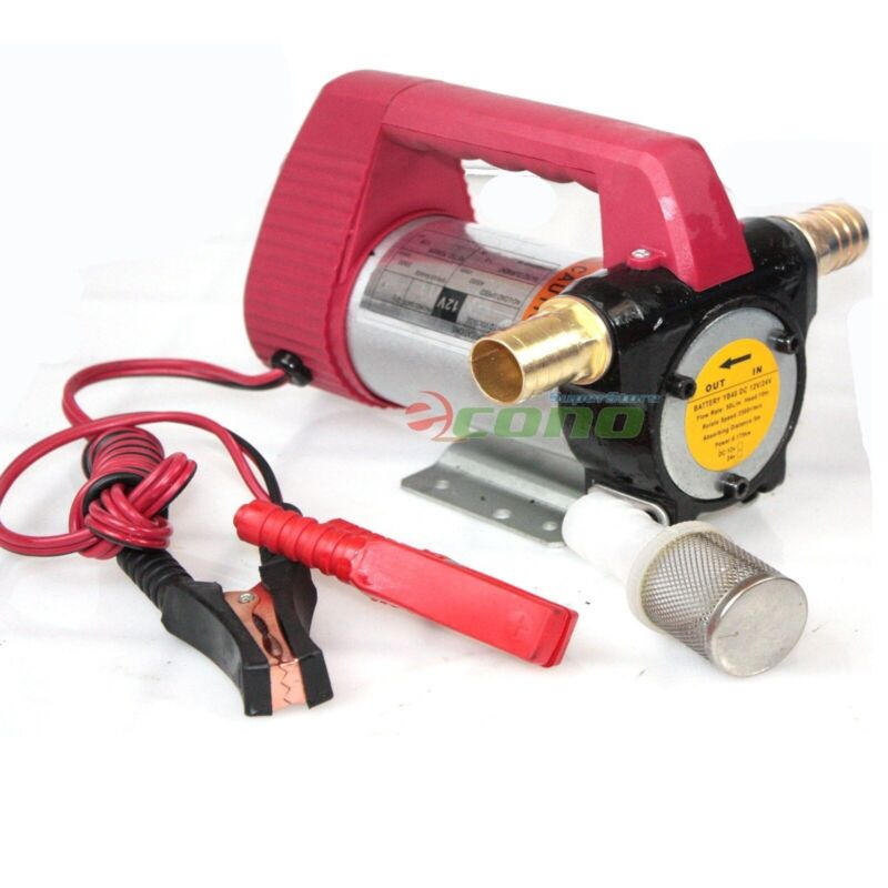 12 Volt Fuel Oil Transfer Pump Diesel Kerosene Biodiesel 12V DC 10.5 gpm Pumps