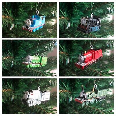 Nickelodeon Thomas The Train And Friends Christmas Ornaments! Set Of 6!