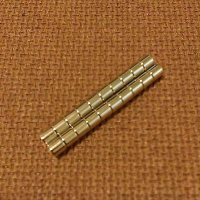 20 N52 Neodymium Cylindrical 14 X 116 Inch Cylinderdisc Magnets.
