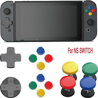 For NS SWITCH Skull & Co. Colorful D-Pad Button Cap Set Joy-Con  D-Pad Tools YUE