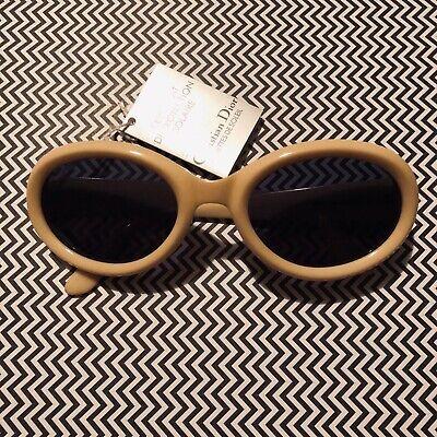 Vintage Christian Dior 2919 70 weiß Sonnenbrille Sunglasses 80er Jahre NOS