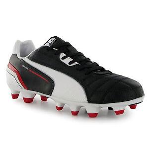 eda0ad2d0 Puma Spirit Fg Junior Kids Football Boots Shoes New Red