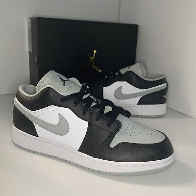Nike Air Jordan 1 Low Shadow Smoke Grey Toe UK Size 6 (GS)