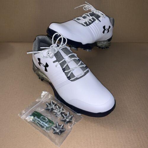 Under Armour UA Match Play E Golf Shoes 3020803-100 Waterpro