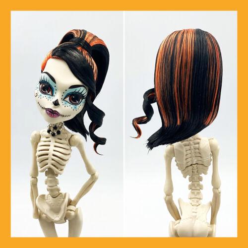 Monster High Skelita Calaveras Scaris Doll Hair Styled Nude For OOAK - $29.98