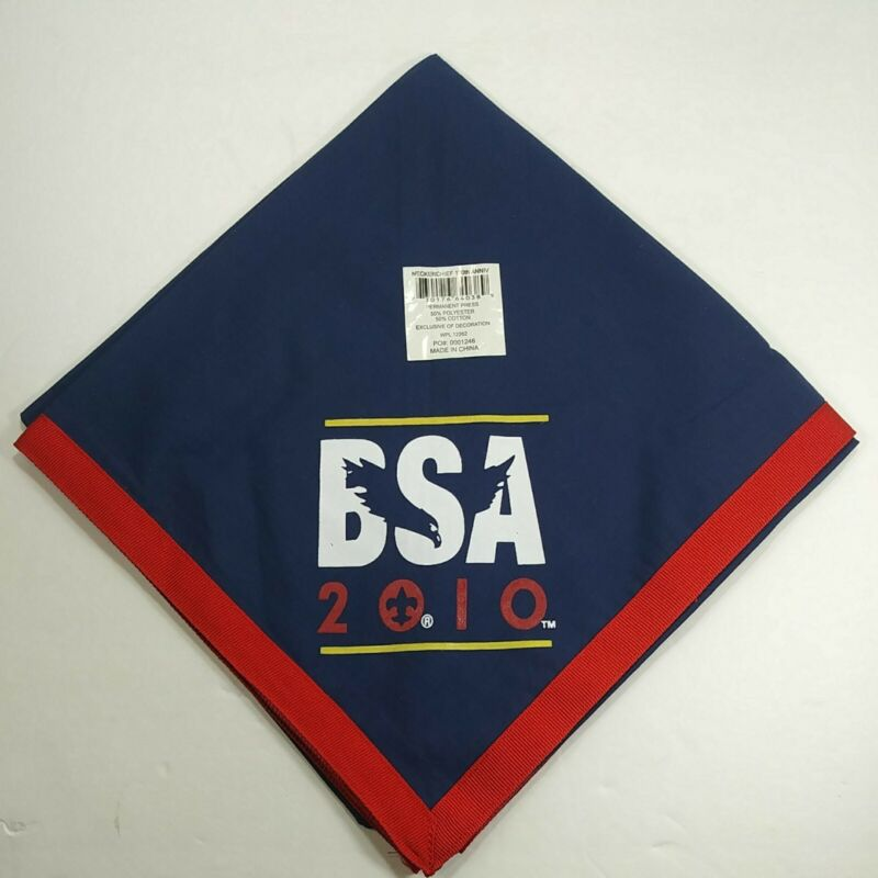 BSA 2010 National Scout Jamboree 100th Anniversary Neckerchief Scouts
